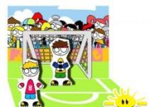 Pop-up kaart FoO voetbal jongens