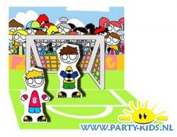 voetbal popupkaart