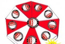 Feyenoord taart rood met wit