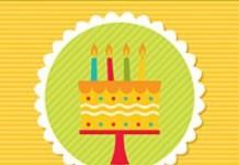 Verjaardagsposter 4 jaar