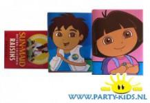 Dora en Diego krentedoosjes