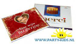 merci chocolade doos wikkel voor valentijn