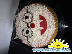 dolfje weerwolfje taart
