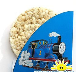 thomas de trein rijstewafel wikkel