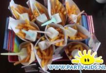 Frietje van nibbits chips