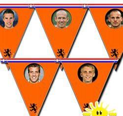 voetbal vlaggetjes
