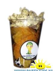 biertje chips popcorn
