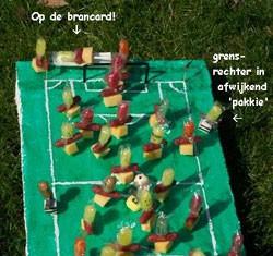 voetbalveld traktatie