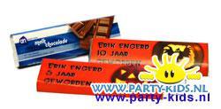 Halloween chocoladereep met eigen tekst
