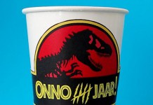 Jurassic world bekerwikkel