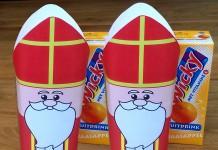 Sinterklaas traktatie pakje drinken
