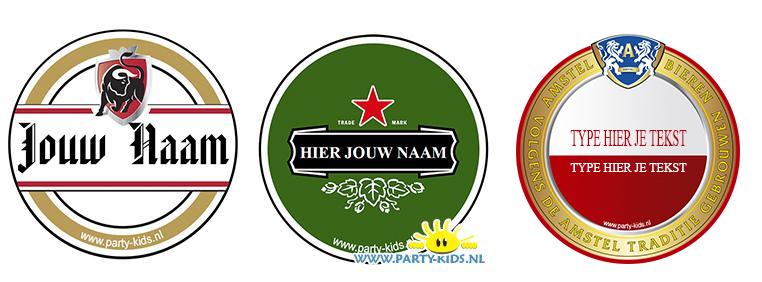 Bierviltje printen met je naam - party-kids.nl