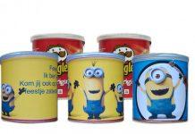 Minions Pringles wikkel