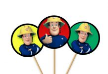 Sam de brandweerman prikkertjes
