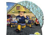 Brandweerman Sam rijstwafel wikkel