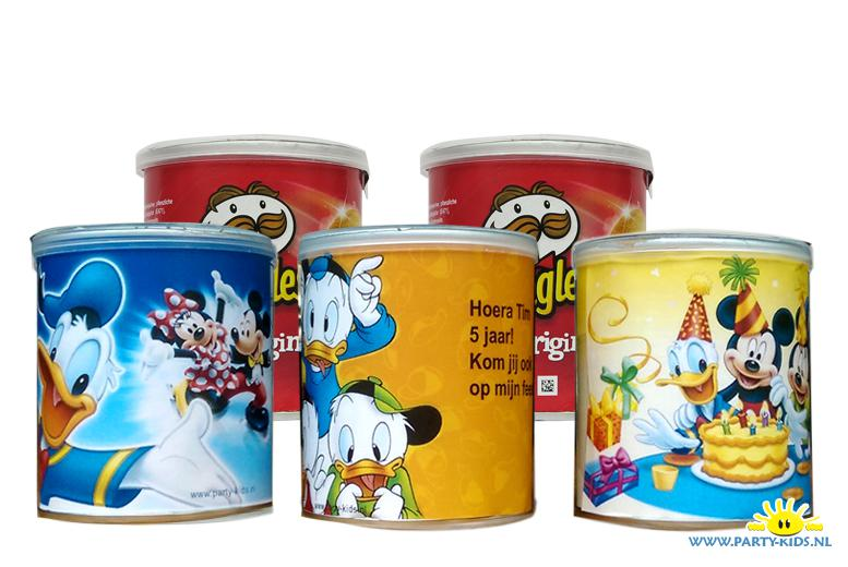 Donald Duck Pringles wikkel - party-kids.nl Smarties Kopen