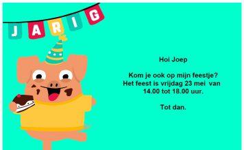 Magnifiek Werktekeningen voor traktaties en kinderfeestjes Party-Kids.nl @DU33